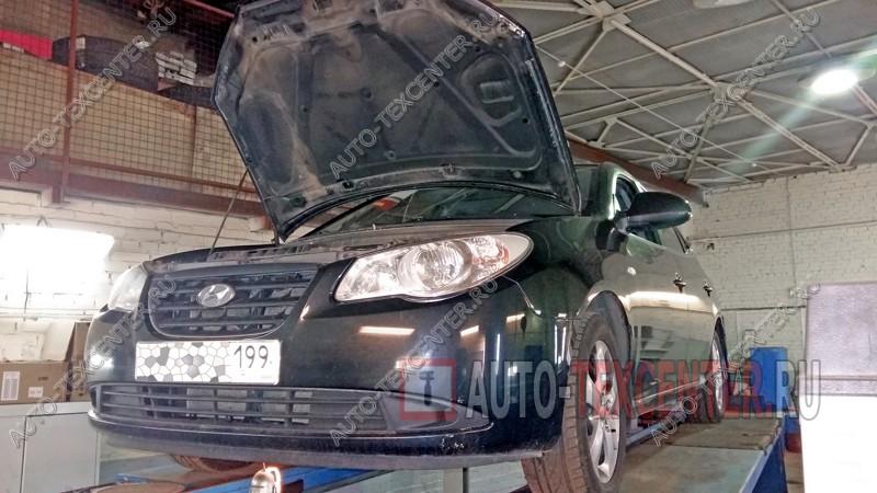 замена датчика коленвала Hyundai Elantra