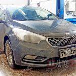 Замена масла в двигателе Kia Cerato