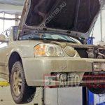 Замена масла в двигателе Kia Magentis