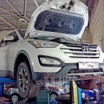 Плановое ТО Hyundai Santa Fe №2 (30 000 км)
