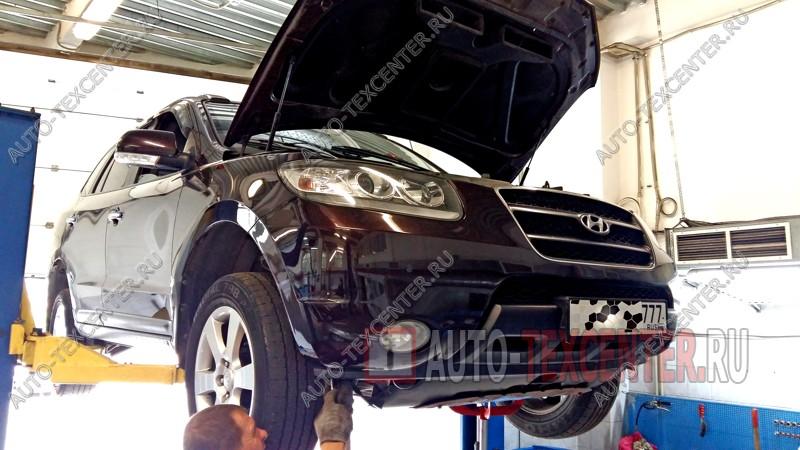 промывка радиатора Hyundai Santa Fe