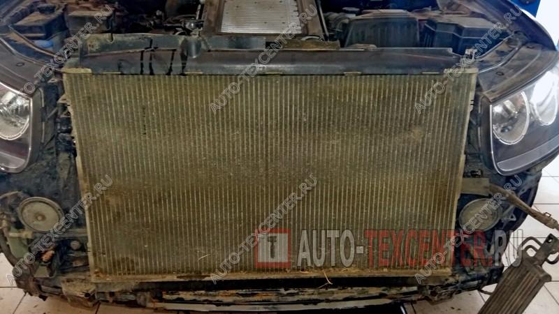 промывка радиатора Хендай Санта Фе