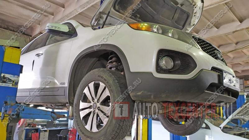 Ремонт и замена двигателя Kia Sorento