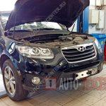 Замена катушки зажигания Hyundai Santa Fe