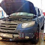 Замена подушки двигателя Hyundai Santa Fe