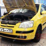 Замена радиатора печки Hyundai Getz