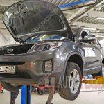 Замена топливного фильтра Kia Sorento 2