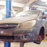 Замена тормозных колодок и дисков Hyundai Getz