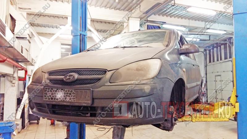 Замена тормозных дисков Hyundai Getz