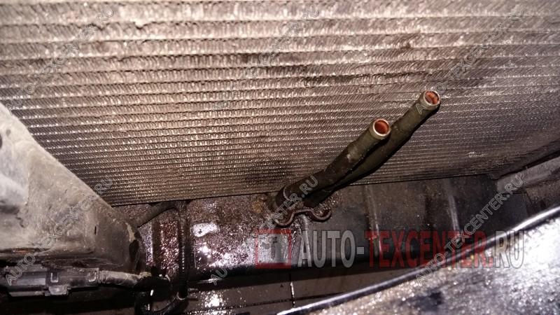 замена трубки системы охлаждения АКПП Киа Опирус