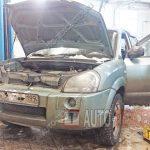 Замена и ремонт двигателя Hyundai Tucson