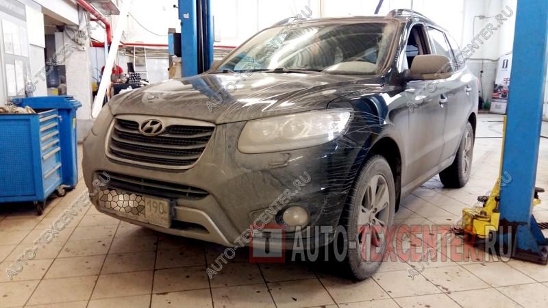 Замена сальника привода Hyundai Santa Fe