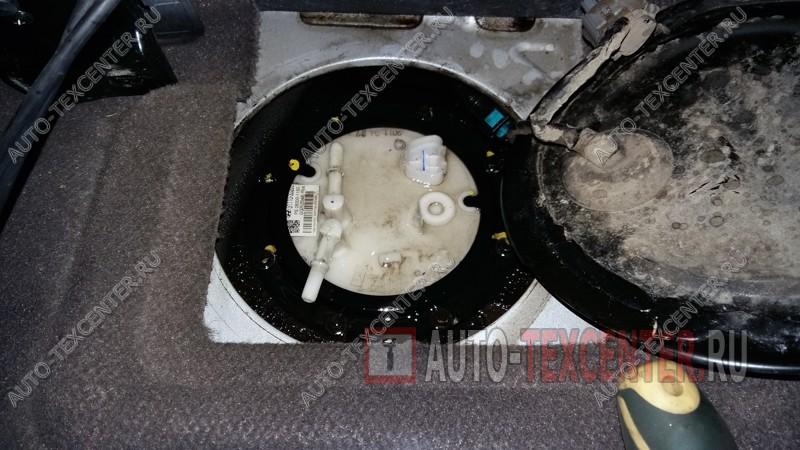 замена топливного фильтра Хендай ix55