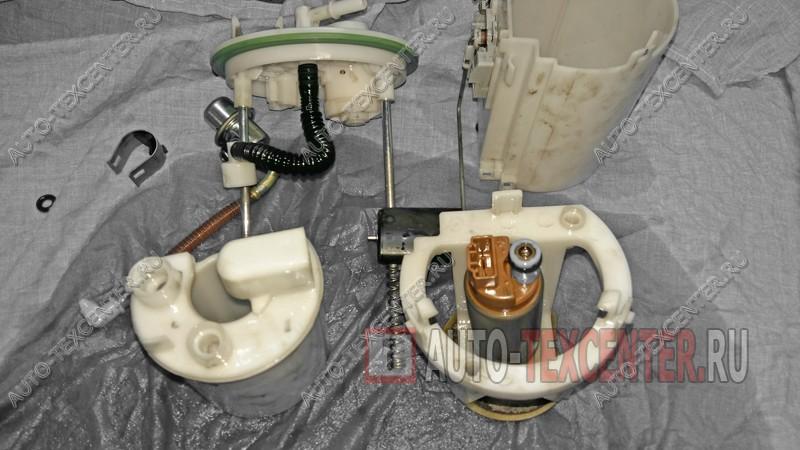 замена топливного фильтра Киа Венга