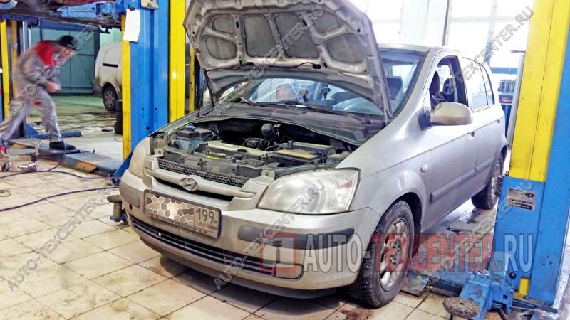 Замена тормозного цилиндра Hyundai Getz