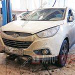 Замена тормозных колодок Hyundai IX35