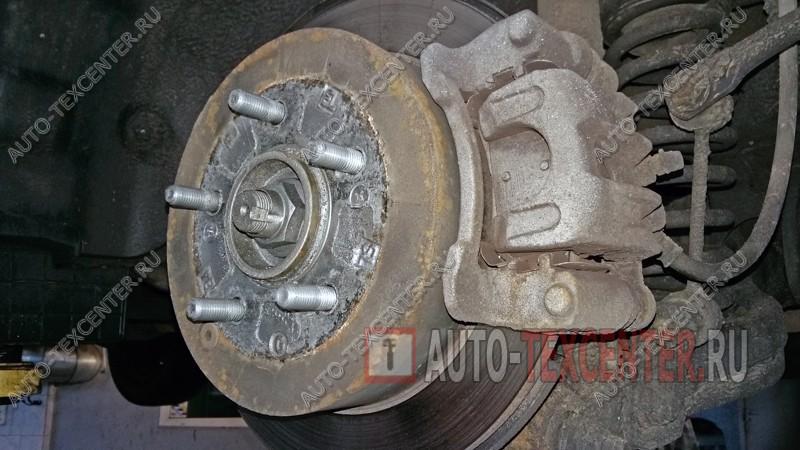 замена тормозных колодок Хендай IX35
