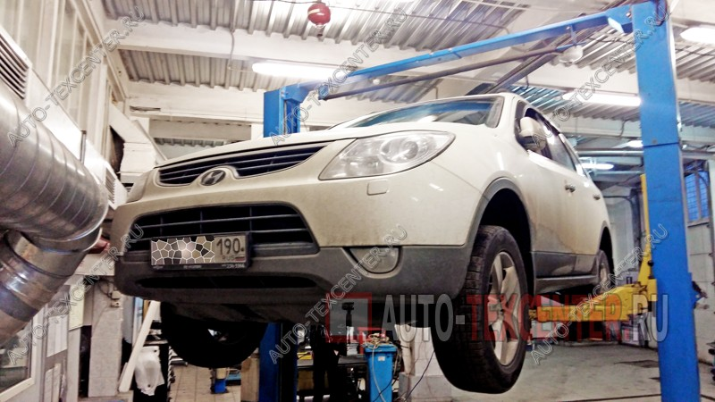 Замена муфты карданного вала Hyundai IX55
