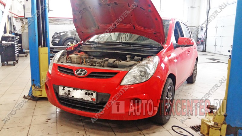 Замена прокладки клапанной крышки Hyundai I20