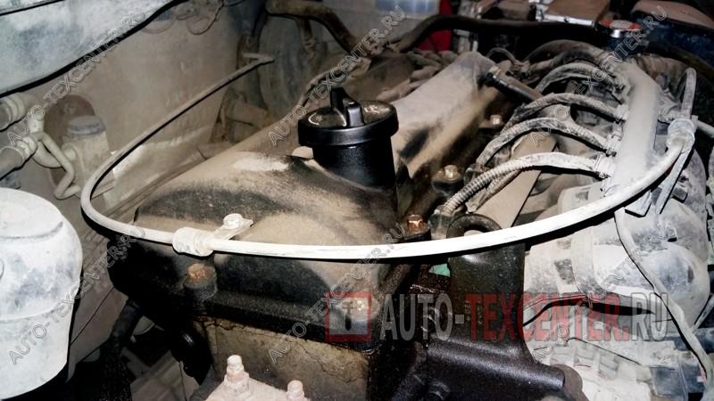 замена прокладки клапанной крышки Хендай i20