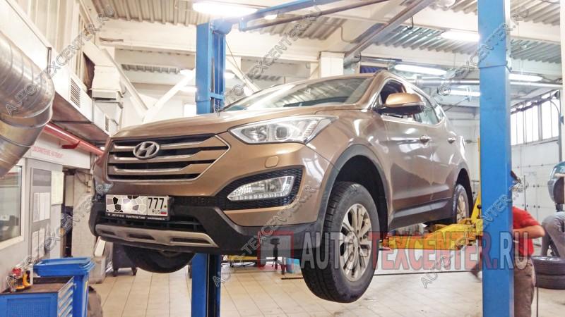 Замена прокладки клапанной крышки Hyundai Santa Fe
