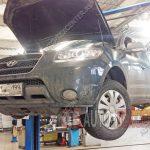 Замена пружин Hyundai Santa Fe