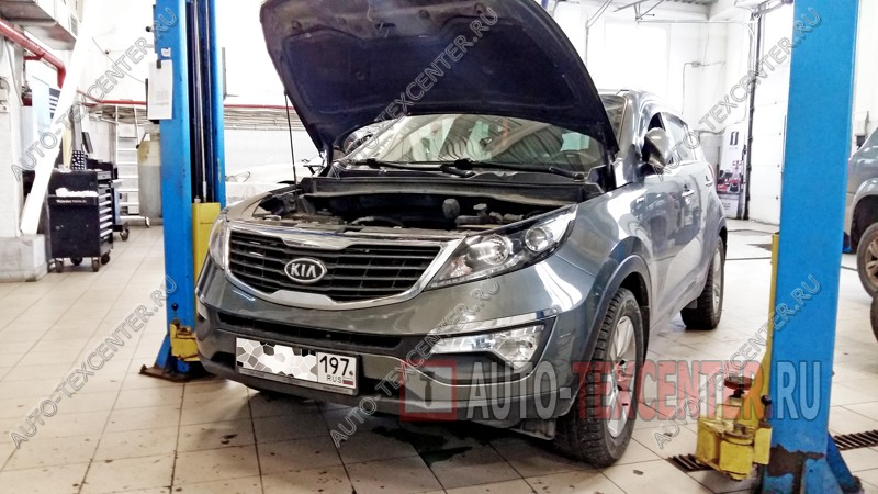 Замена рулевых наконечников Kia Sportage