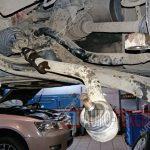Замена рулевых тяг и наконечников Kia Sportage 3