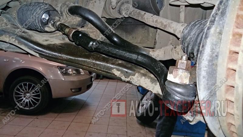 замена рулевых наконечников Киа Спортейдж