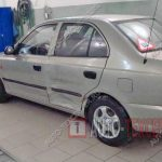 Ремонт двери Hyundai Accent