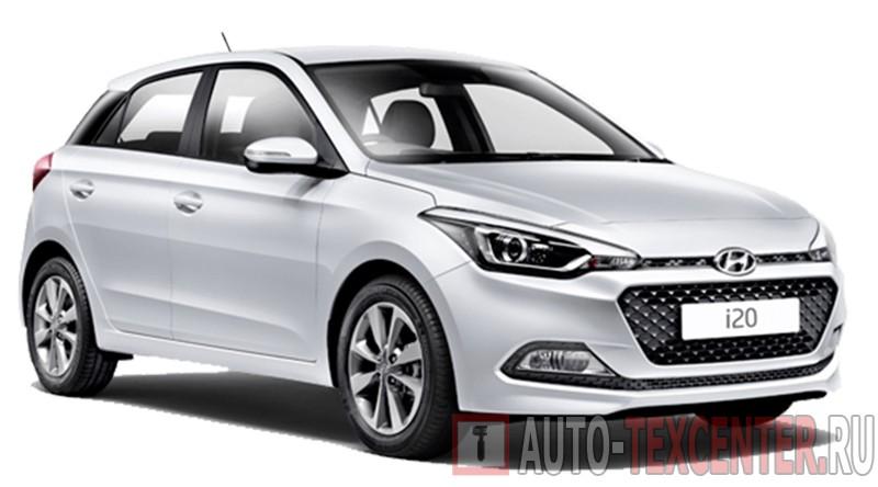Hyundai I20 (GB) расход топлива (бензин) 1,2 L (75 л.с.)