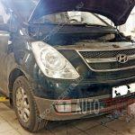 Замена помпы Hyundai Starex H-1