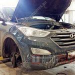 Замена сальника коленвала Hyundai Santa Fe