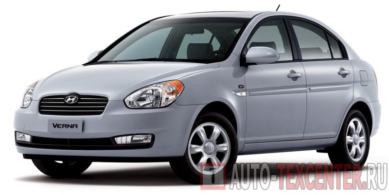 Расход топлива Hyundai Verna (MC)