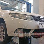 Замена тормозных колодок и дисков Kia Cerato