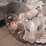 Замена тормозных колодок и дисков Kia Cerato 2