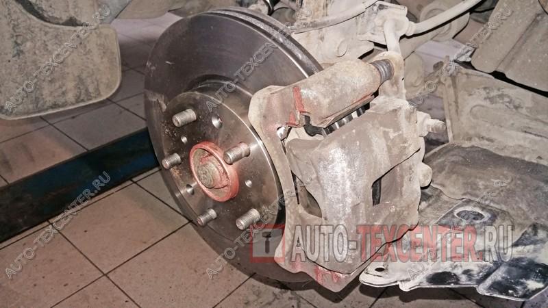 замена тормозных дисков Киа Церато
