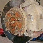 замена тормозных дисков Киа Спортейдж 2