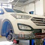 Плановое ТО Hyundai Santa Fe №6 (90 000 км)