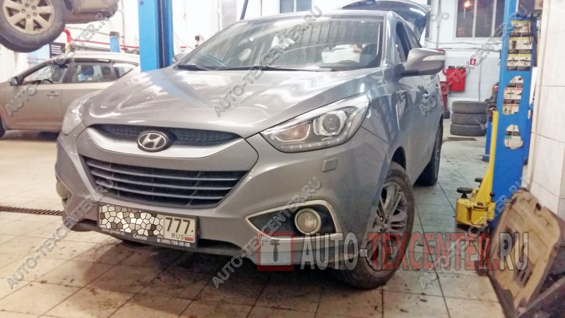 Замена амортизаторов Hyundai IX35