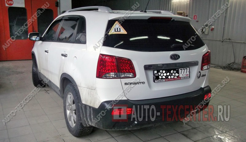 Кузовной ремонт Kia Sorento