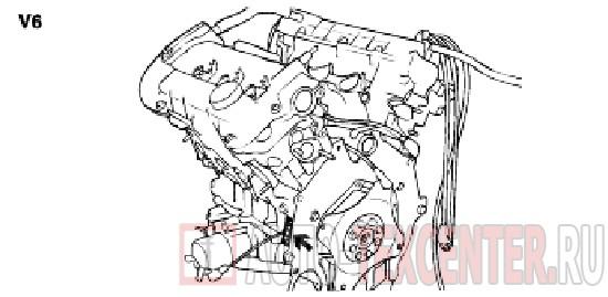 Расположение вин номера Hyundai Sonata 4 (EF)