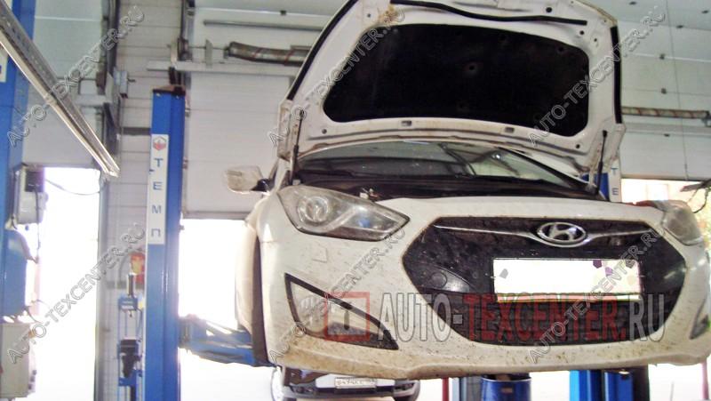 Замена подшипника ступицы Hyundai I40