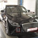Замена тормозных колодок Hyundai Genesis