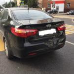 Кузовной ремонт задней части Kia Rio 2014