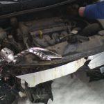 Кузовной ремонт  Hyundai Solaris 2014