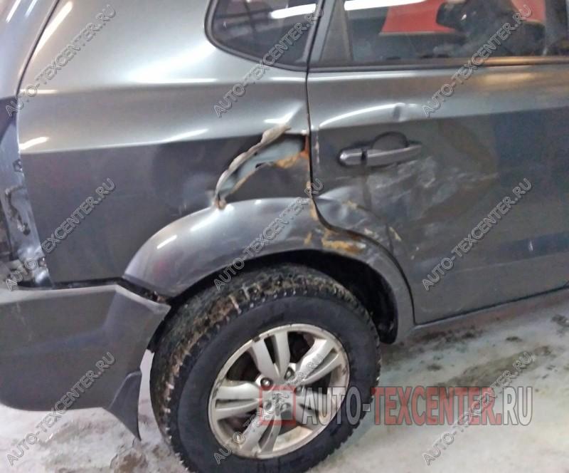Кузовной ремонт Hyundai Tucson
