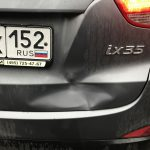 Покраска двери Hyundai ix35