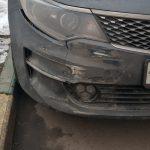 ремонт переднего бампера Kia Optima (2)