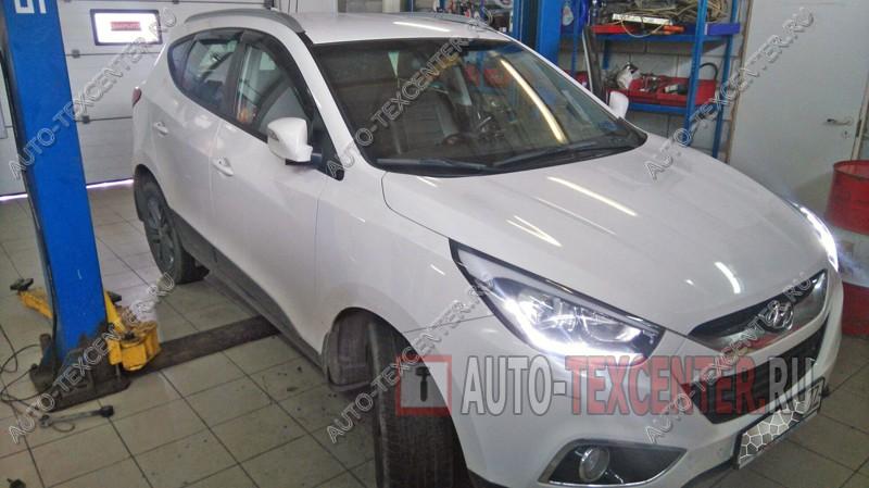 Замена опорных подшипников Hyundai IX35
